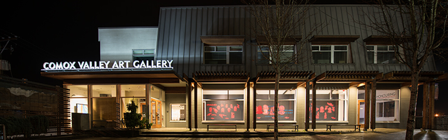 Comox Valley Art Gallery header
